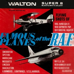 "Avions de la Royal Air Force ""Famous Planes of the R.A.F."""