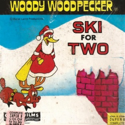 "Woody Woodpecker ""Ski for Two"""