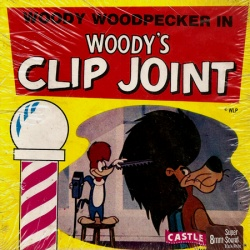 "Woody Woodpecker ""Woody's Clip Joint"""