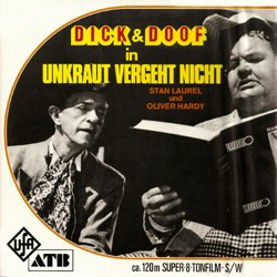 laurel et hardy dick doof unkraut vergeht nicht film super 8 bd. Black Bedroom Furniture Sets. Home Design Ideas
