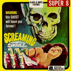 "Le Crâne hurlant ""The Screaming Skull"""