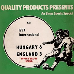 "International 1953 ""Hongrie contre Angleterre"""