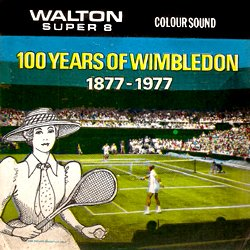 "100 ème Anniversaire de Wimbledon ""Hundred Years of Wimbledon 1877-1977"""