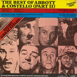The Best of Abbott & Costello Part II