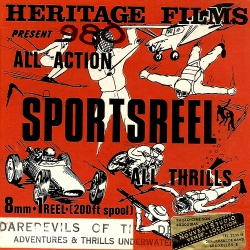 "Sportsreel ""Daredevil Drivers: Motor Racing Thrills"""