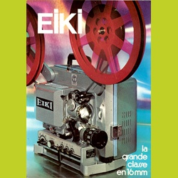 Catalogue dépliant Eiki, la grande Classe en 16mm