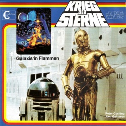 "Supplément catalogue Marketing Film Star Wars ""Krieg der Sterne"""