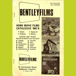 Catalogue Bentleyfilms 1967/8